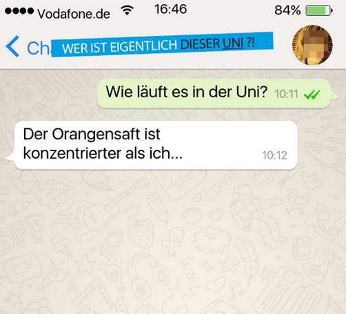 Lustig whatsapp chats 500 besten