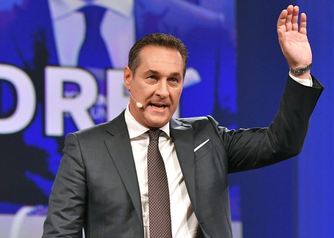 Kandidat 3: Heinz-Christian Strache, der Vorsitzende der rechtskonservativen FPÖ.