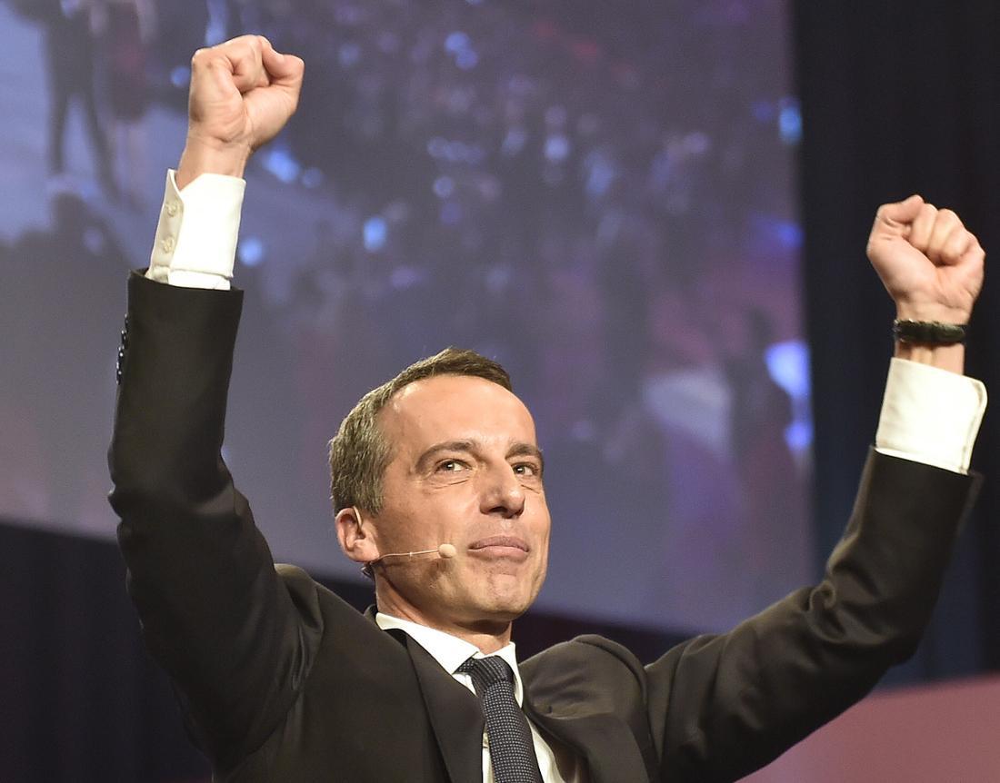 Kandidat 1: Österreichs amtierender Kanzler Christian Kern.
