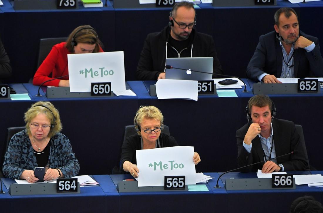 Abgeordnete im Europäischen Parlament im Oktober 2017