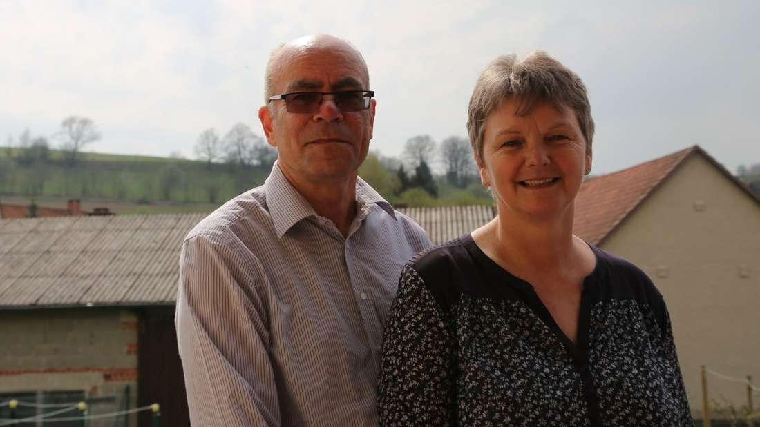 Helga und Erwin Schwab kämpfen seit mehr als 30 Jahren gegen die Berufsgenossenschaft Bau.