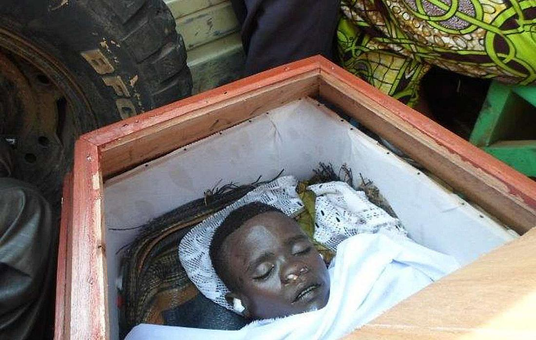 Der getötete 17-jährige Mbone Christian Nakulire.