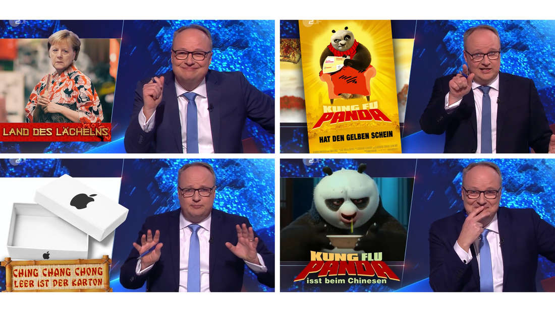 Szenen aus verschiedenen Ausgaben der ZDF heute-show