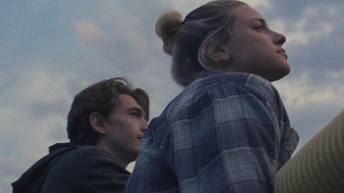 Austin Abrams as Henry Page and Lili Reinhart as Grace Town in CHEMICAL HEARTS