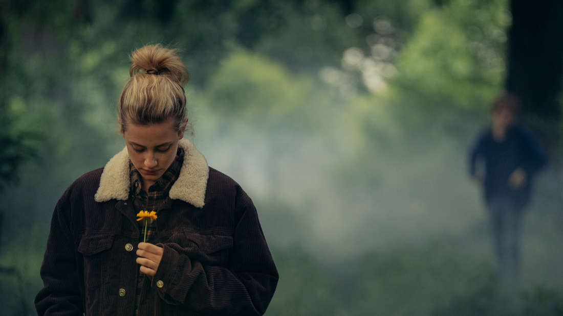 Lili Reinhart as Grace Town in CHEMICAL HEARTS