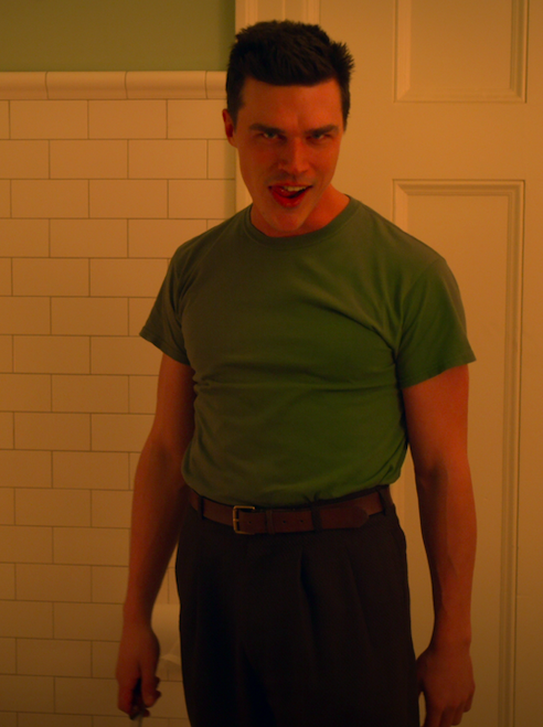 "Finn Wittrock Edmund Tolleson in the show ""Ratched"""