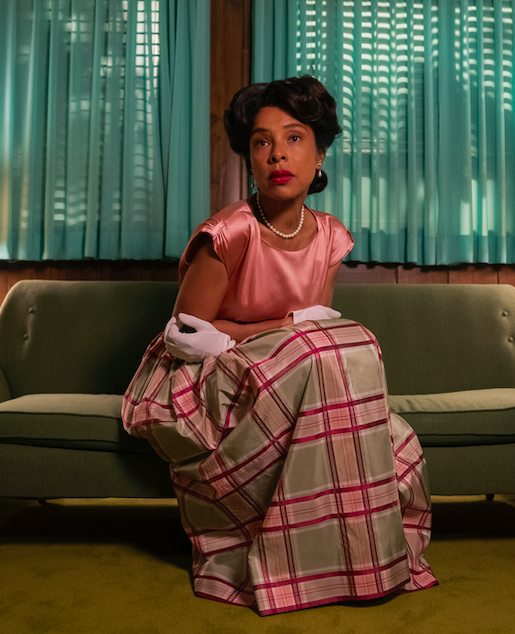 "Sophie Okonedo as Charlotte Wells in the show ""Ratched."""