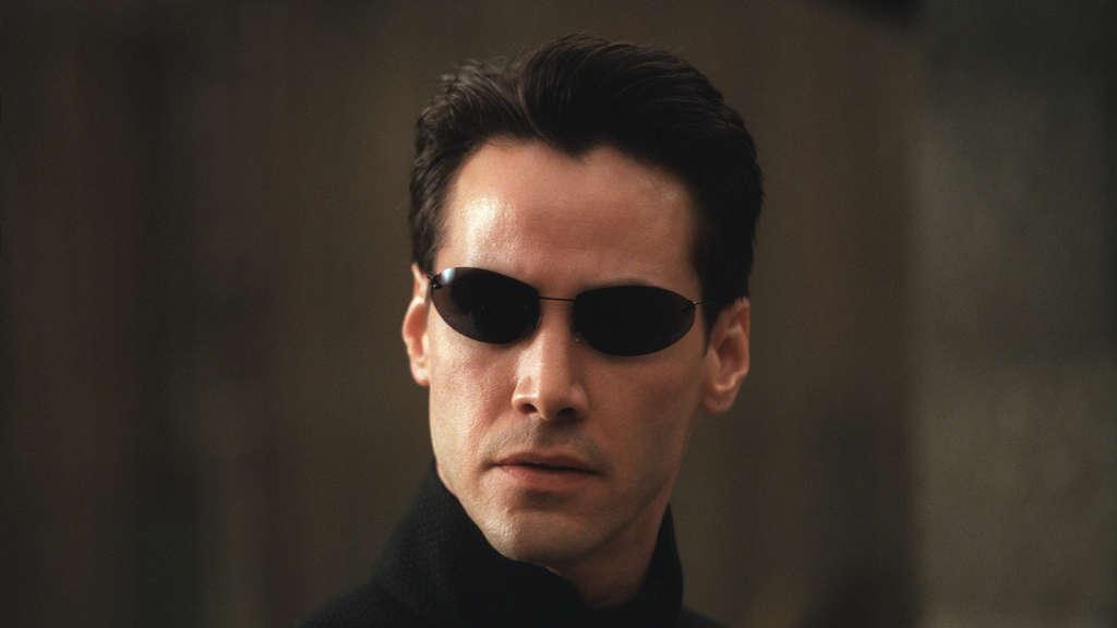 MATRIX RELOADED, Keanu Reeves, 2003, (c) Warner Brothers / Mit freundlicher Genehmigung der Everett Collection