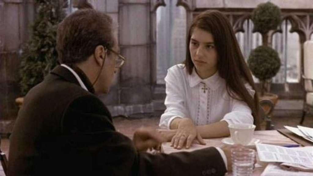 """""""Ich habe gehört, dass Winona Ryder in Der Pate III fast Mary Corleone gespielt hätte. Das hätte den Film so viel besser gemacht.""""—murrays3"""