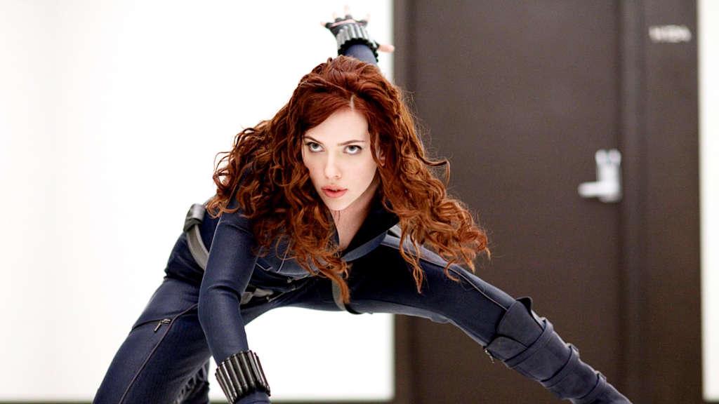 IRON MAN 2, Scarlett Johansson, 2010. F: Merrick Morton / ©Paramount / Mit freundlicher Genehmigung der Everett Collection