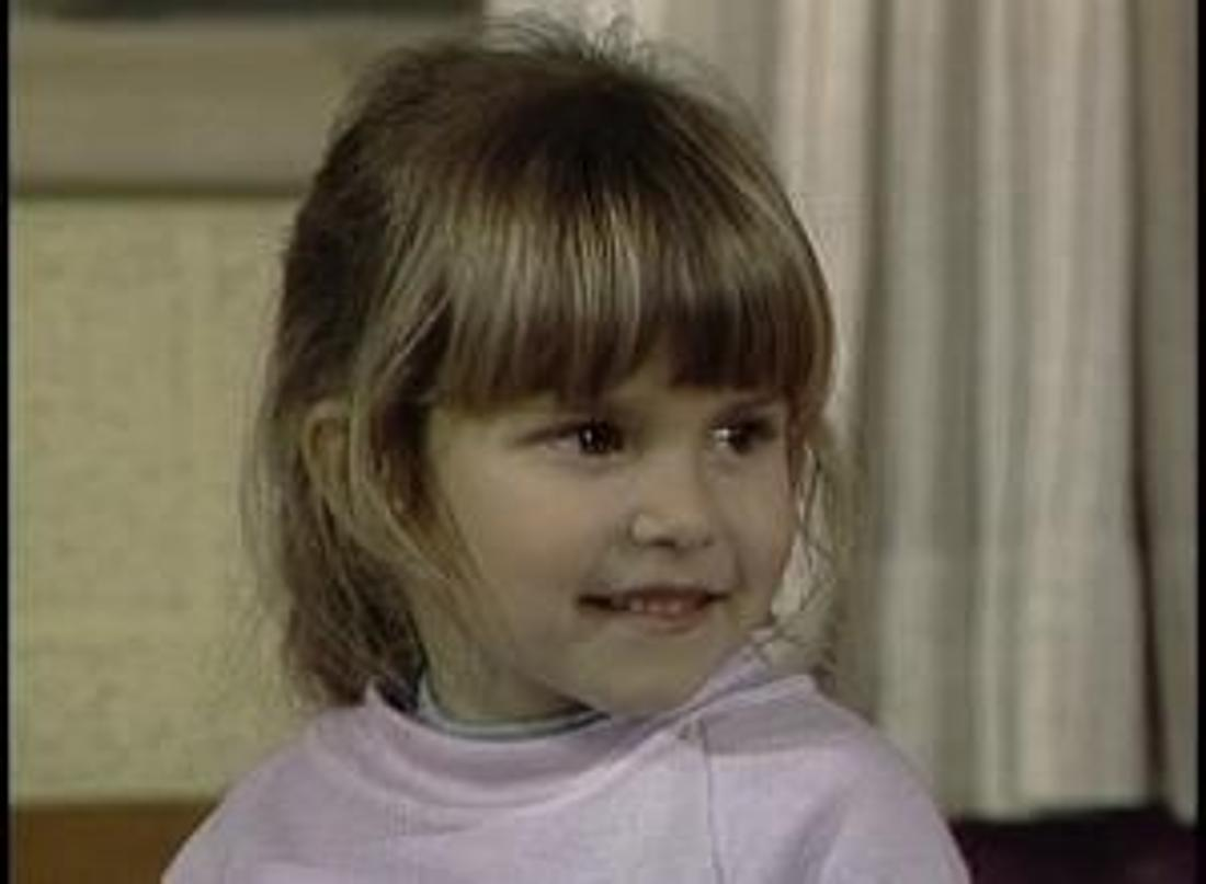 """Judith Barsi in an episode of """"Punky Brewster."""""""