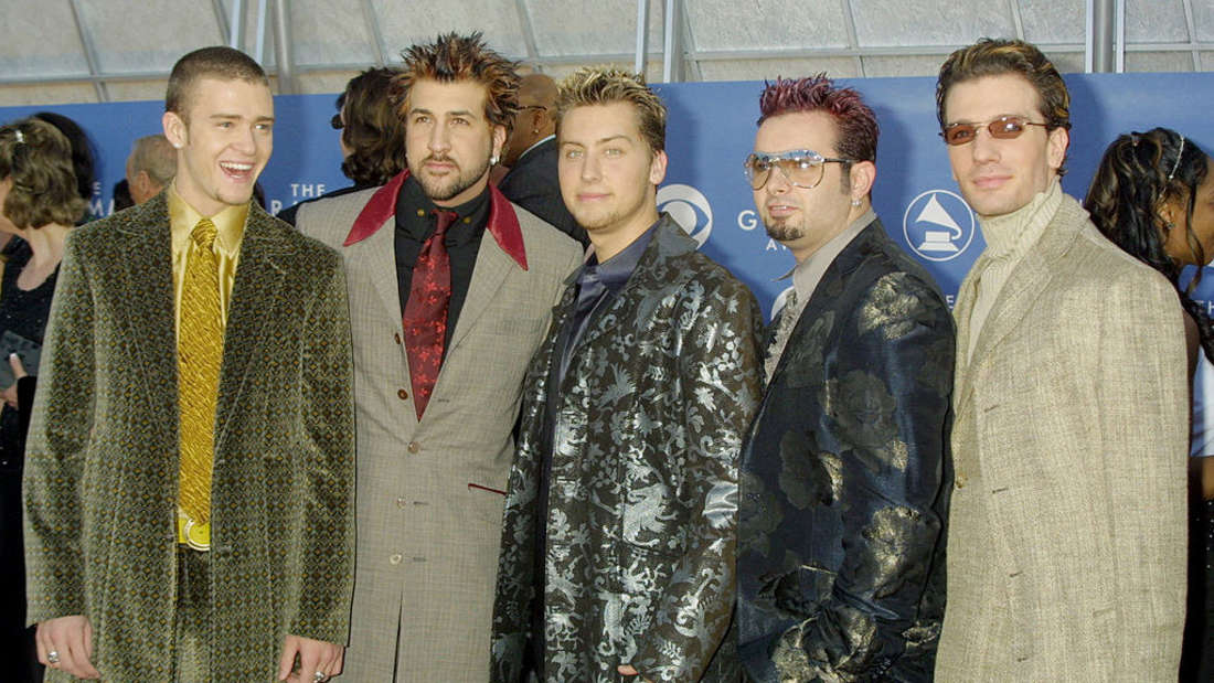NSYNC with very large coats
