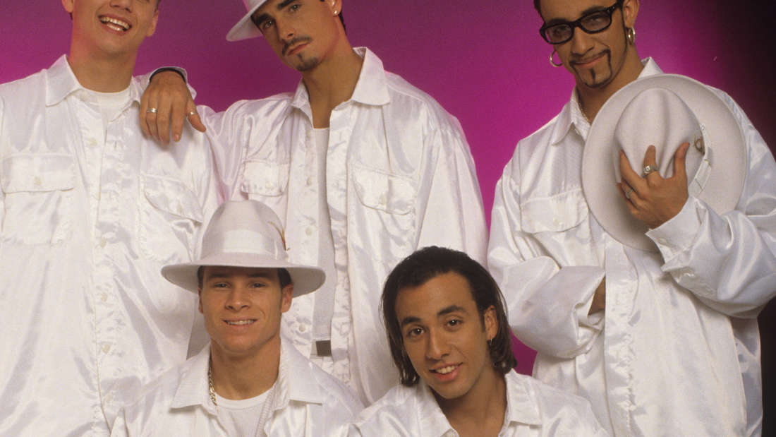 BSB in matching white suits