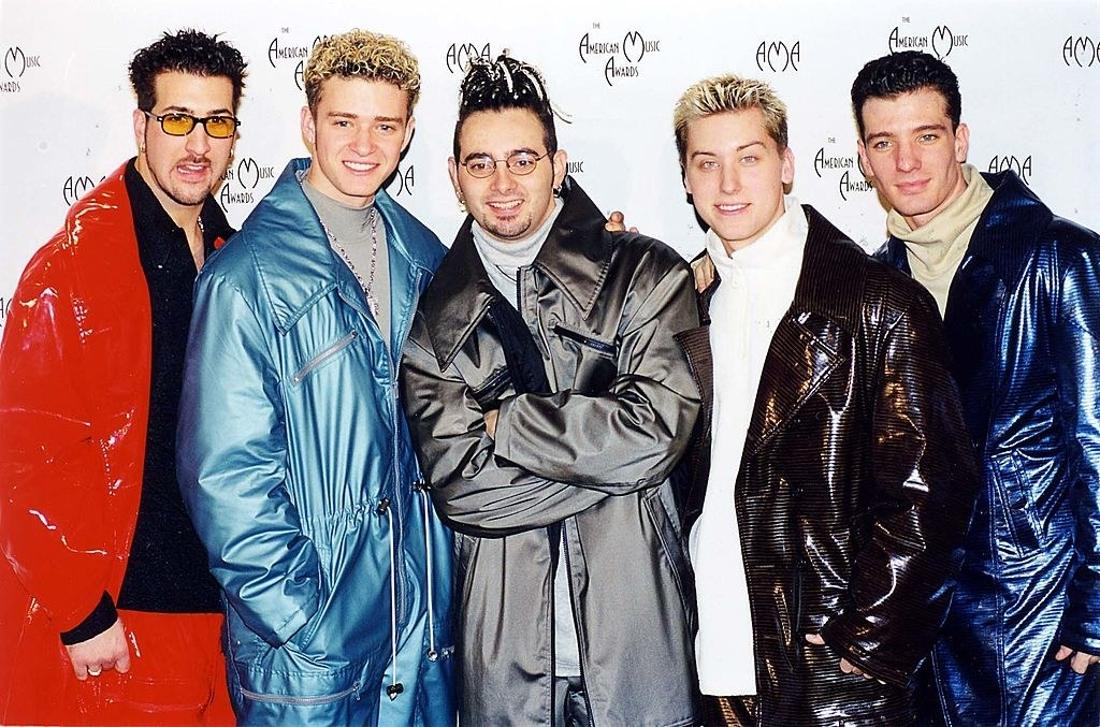 NSYNC with large large suits