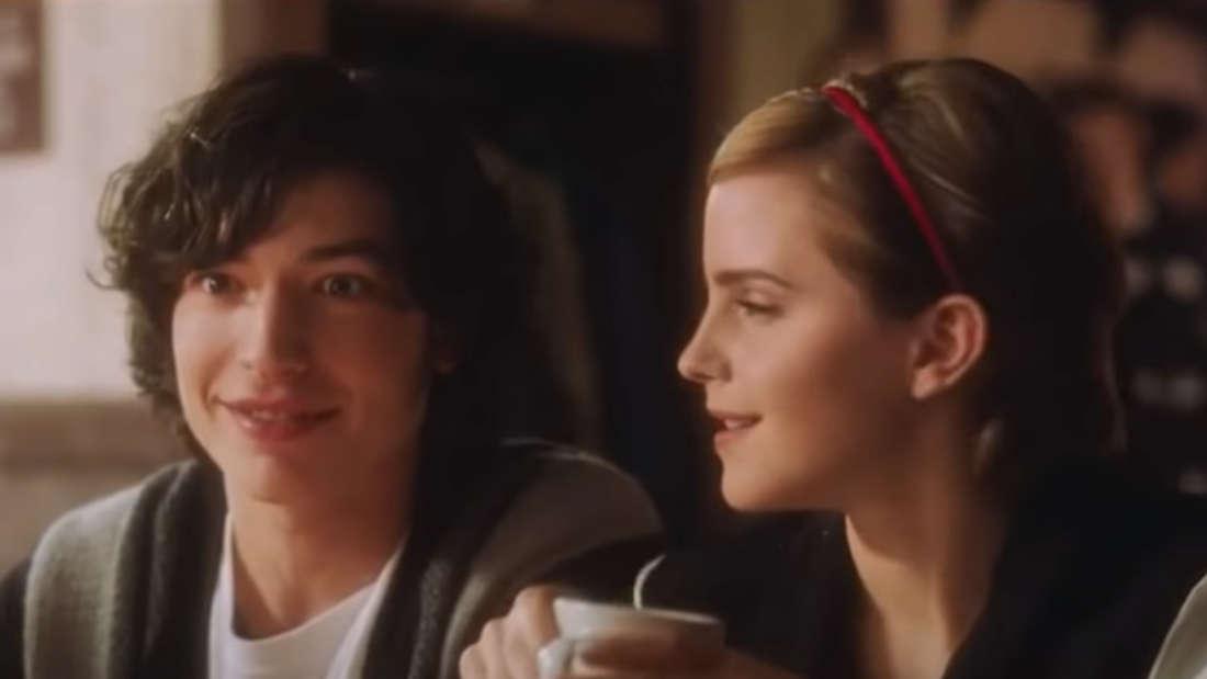 """Der Screenshot zeigt die Geschwister Patrick und Sam aus dem Film """"Vielleicht lieber morgen""""."""