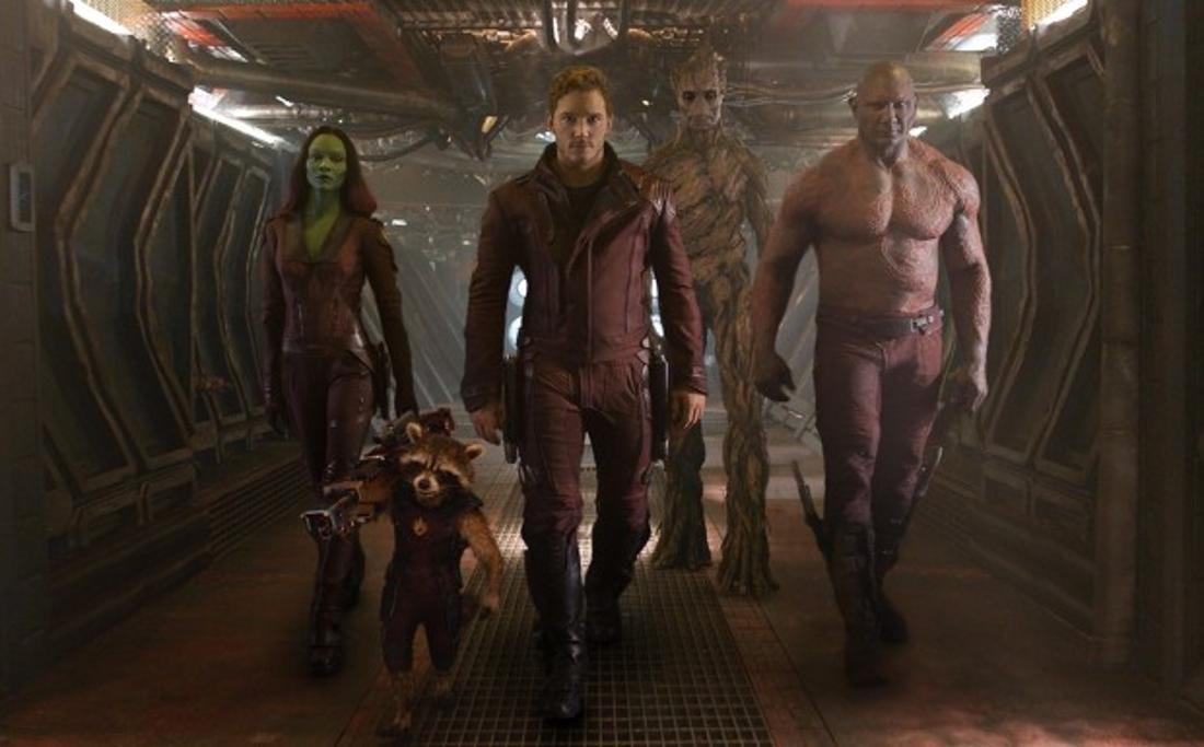 Die Guardians of the Galaxy - rund um Star-Lord Chris Pratt - machen sich kampfbereit.