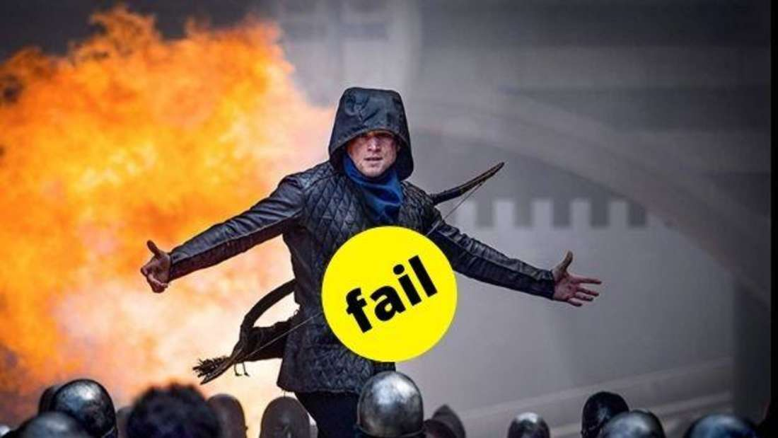 Taron Egerton als Robin Hood im gleichnamigen Film von 2018.
