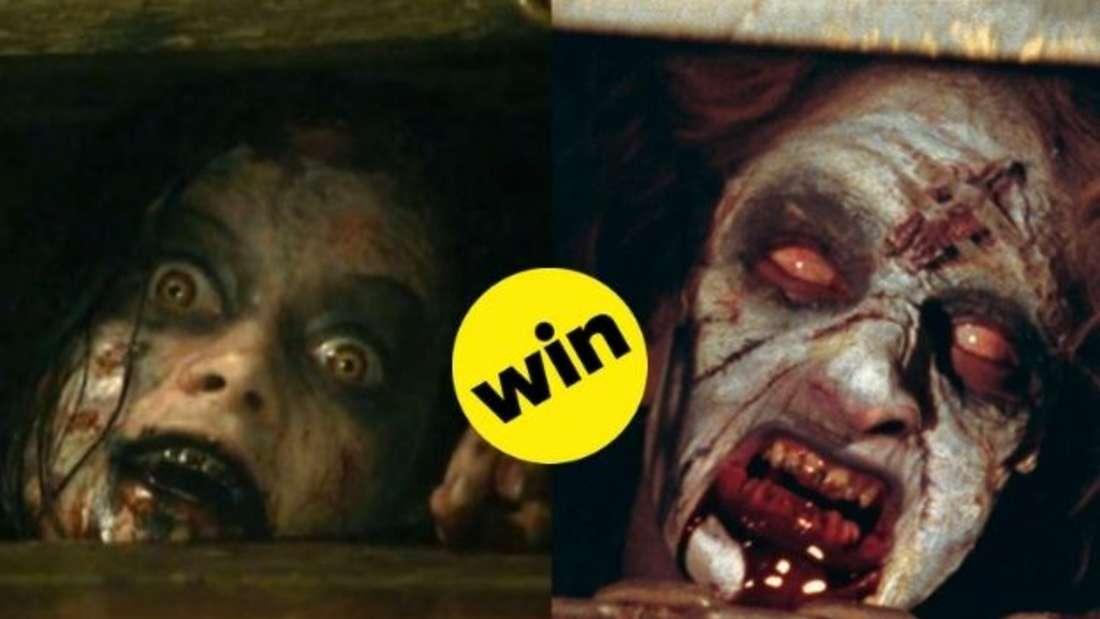 """In dieser Szene der Horrorfilme """"Evil Dead"""" und """"Tanz der Teufel"""" versuchen zwei vom """"Bösen"""" besessenen Frauen aus einer Kellerluke zu entkommen."""