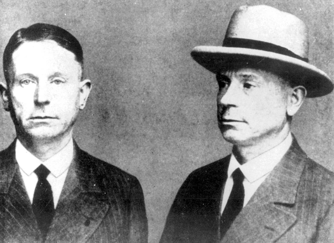 Polizeifoto des Serienmörders Peter Kürten.