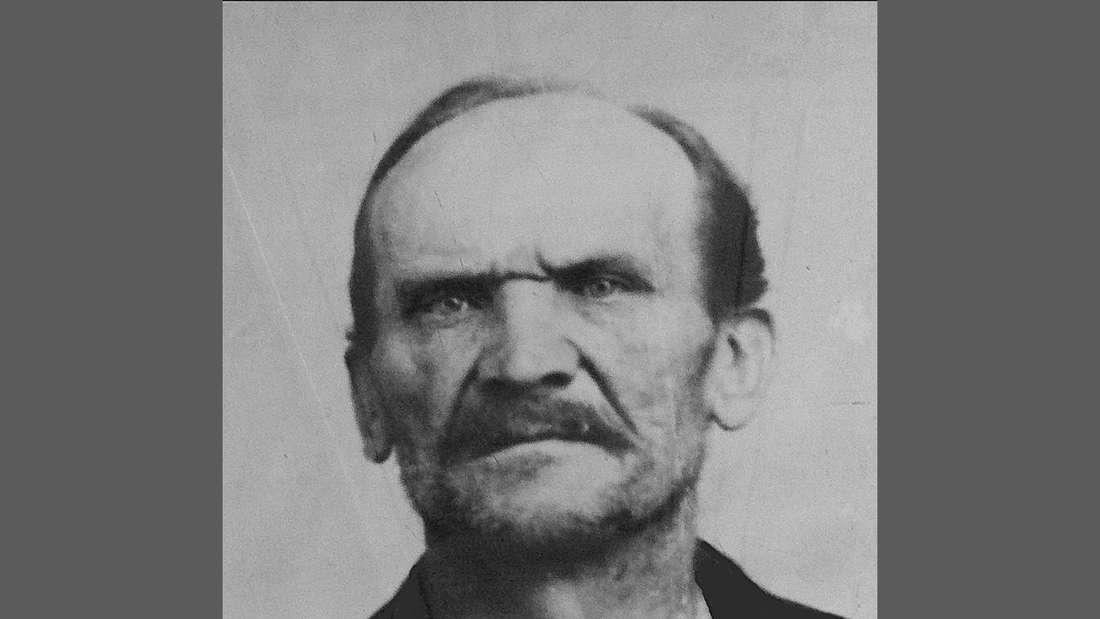 Ein Portraitfoto des Serienmörders Carl Großmann.