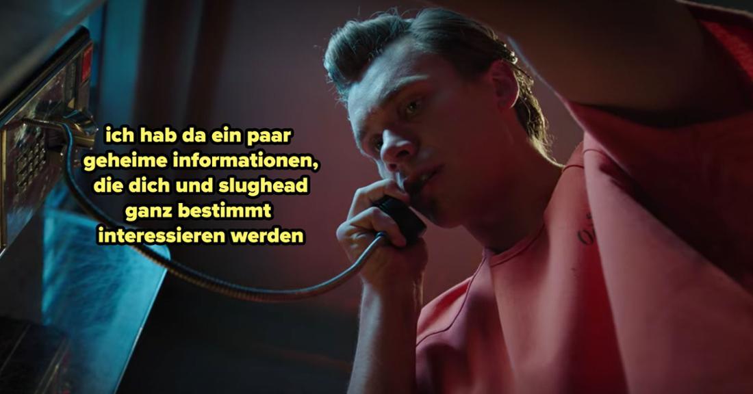 Bret Easton Wallis ruft Betty und Jughead aus dem Gefängnis an, um von einem Geheimnis zu sprechen.