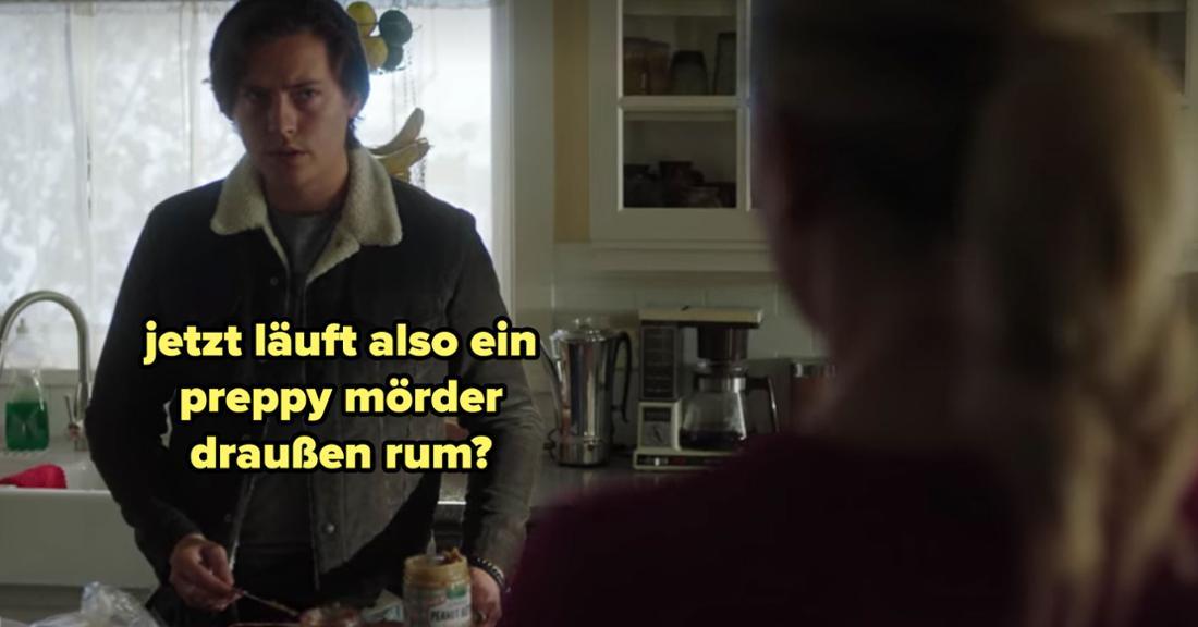 Jughead erfährt von Betty, dass Joan ermordet wurde, und fürchtet, ein neuer preppy Serienmörder ist irgendwo da draußen.