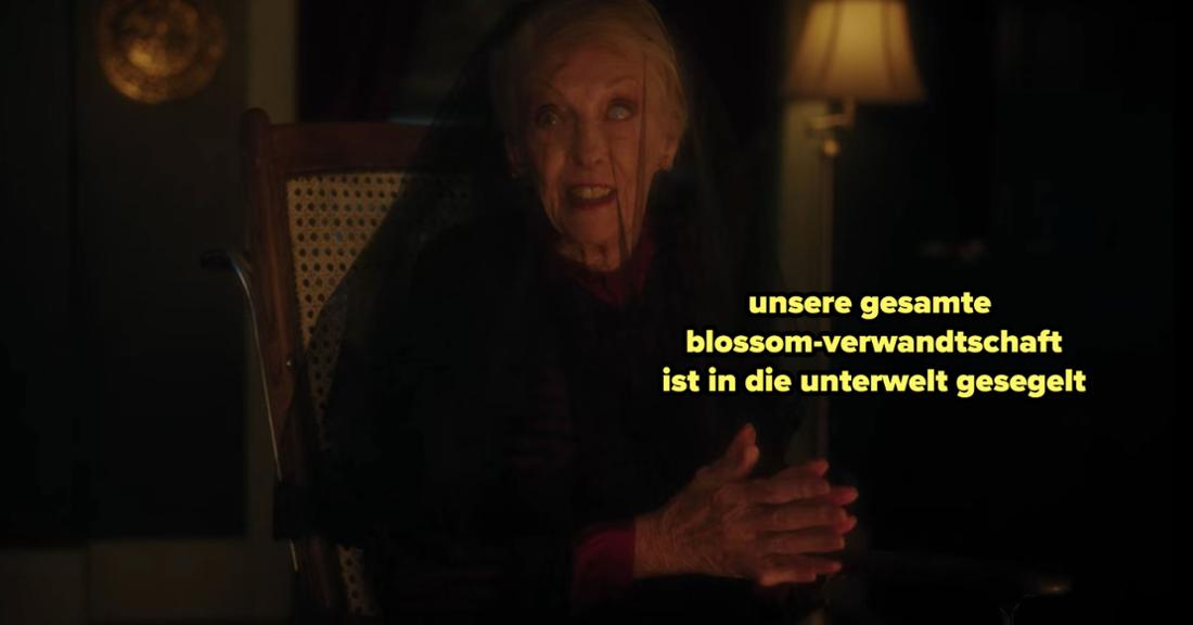Nana Rose erzählt Cheryl, dass die ganze Verwandtschaft tot ist
