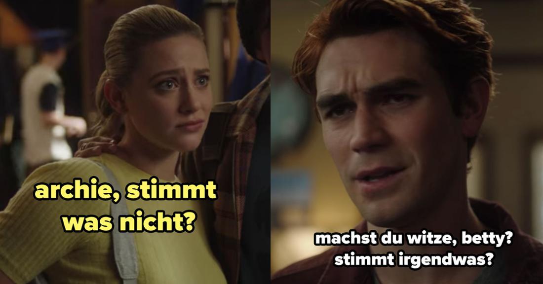 Archie erklärt Betty indirekt, dass in Riverdale so einiges nicht stimmt.