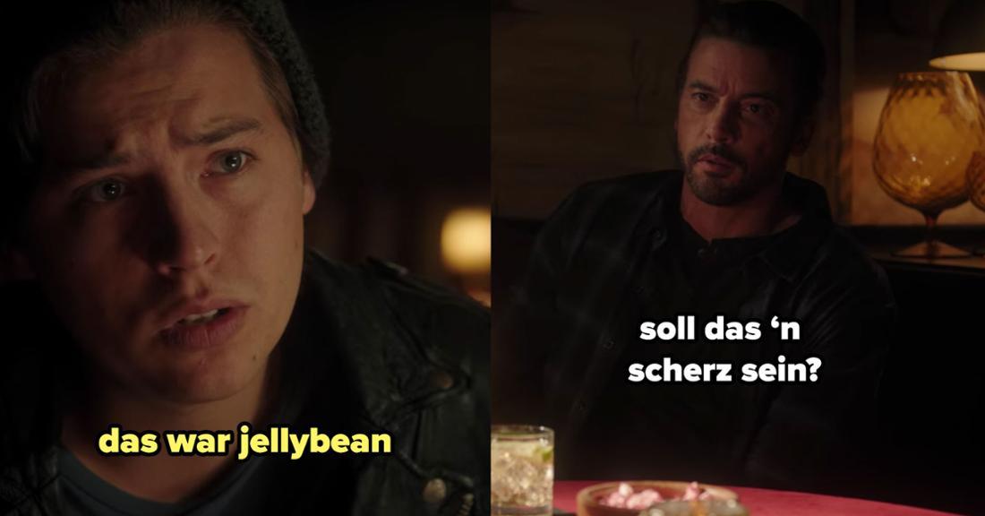 Jughead erzählt seinem Vater, dass Jellybean hinter den gruseligen Videos steckt.