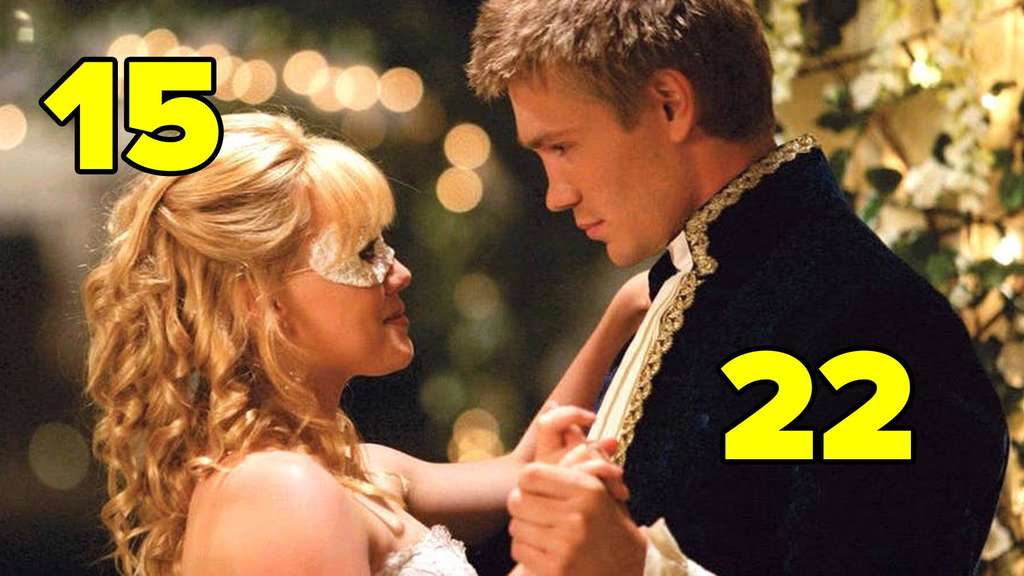 "Hilary Duff und Chad Michael Murray in ""A Cinderella Story""."