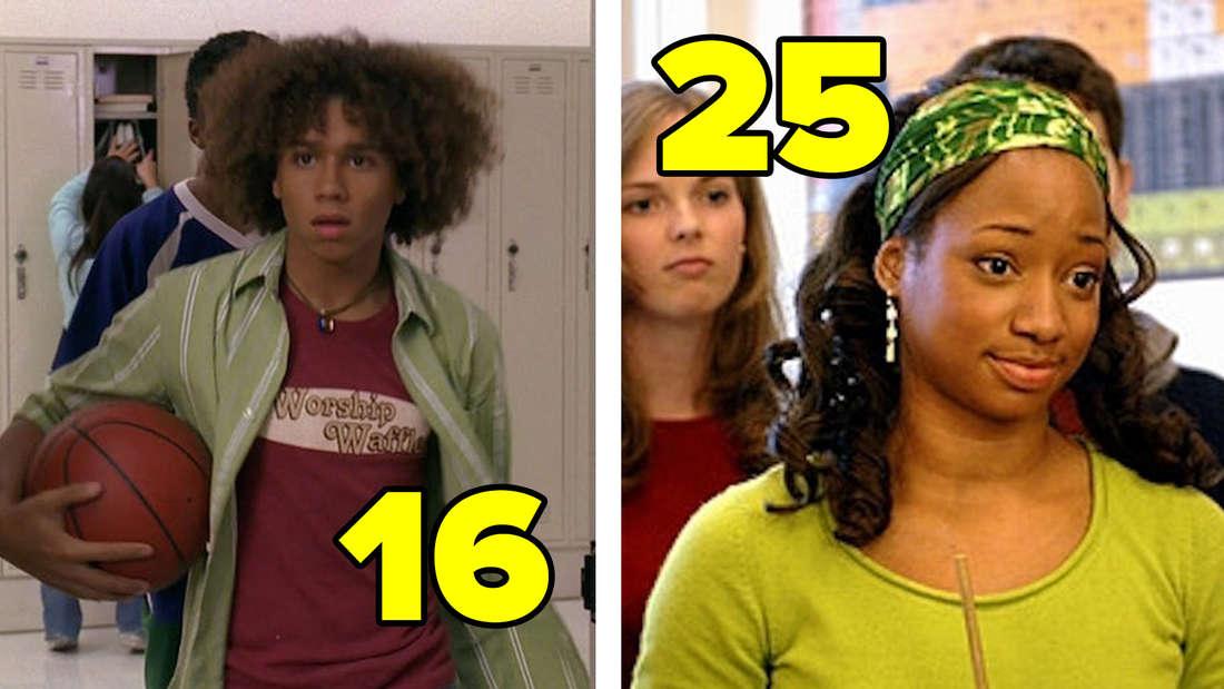 """Corbin Bleu und Monique Coleman in """"High School Musical""""."""