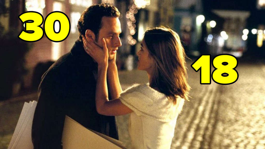 "Keira Knightley und Andrew Lincoln in ""Love Actually""."