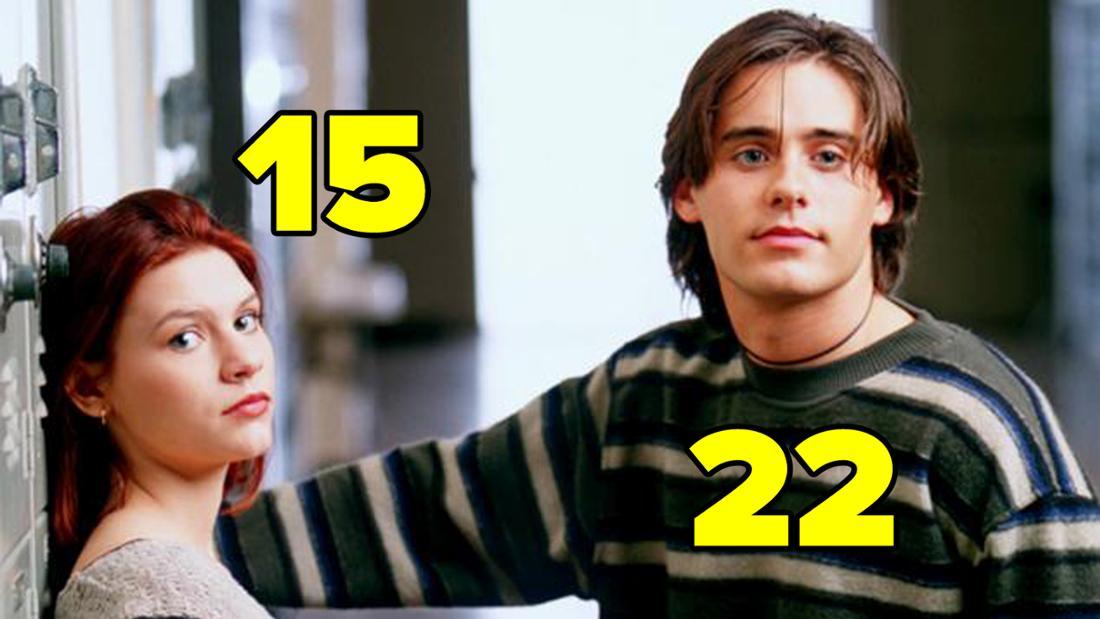"Jared Leto und Claire Danes in ""My So-Calles Life""."