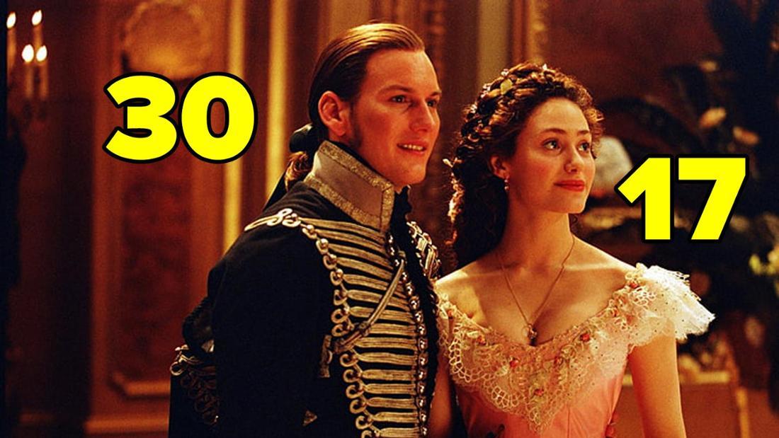 """Emmy Rossum und Patrick Wilson in """"Das Phantom der Oper""""."""