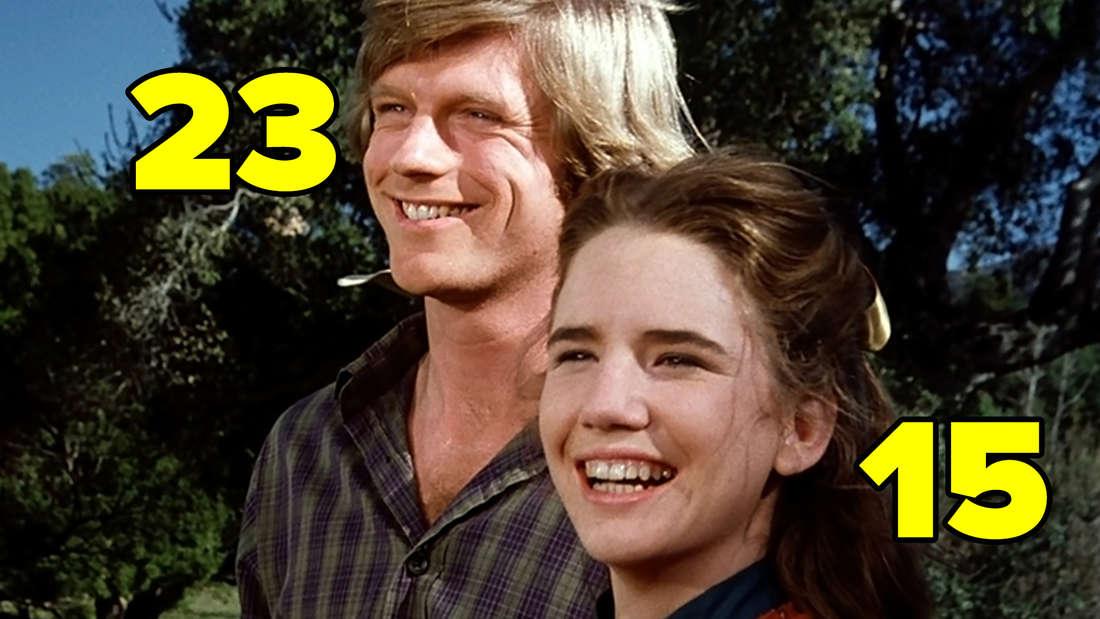 """Melissa Gilbert und Dean Butler in """"Unsere kleine Farm""""."""