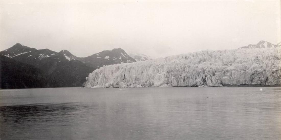 Der McCarty-Gletscher im Kenai-Fjords-Nationalpark, 1909