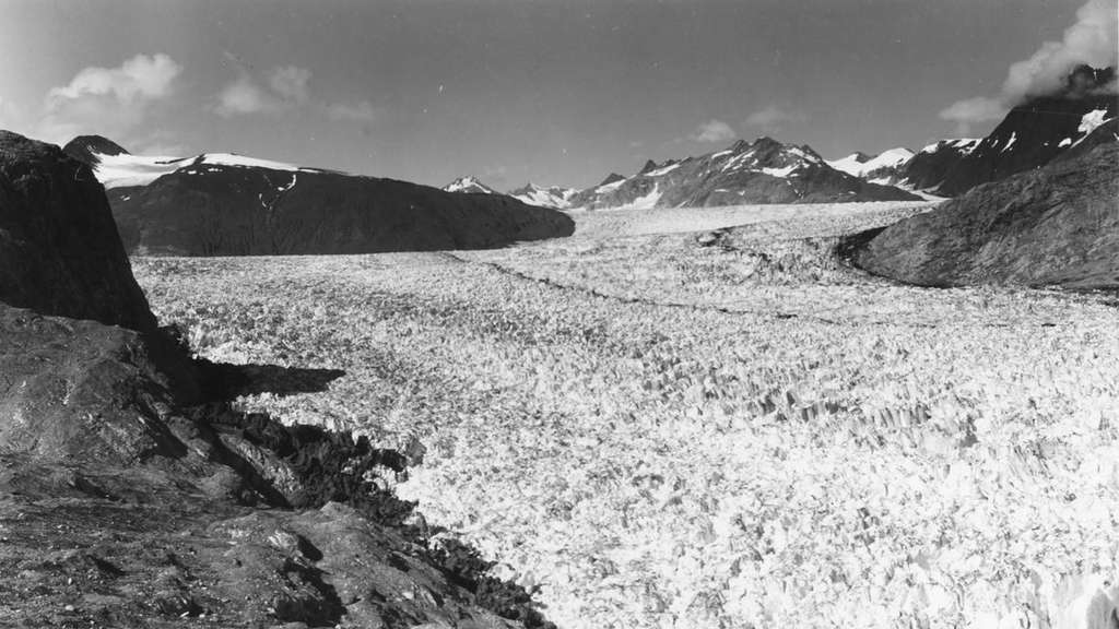 Muir-Gletscher, Glacier-Bay-Nationalpark, 1941
