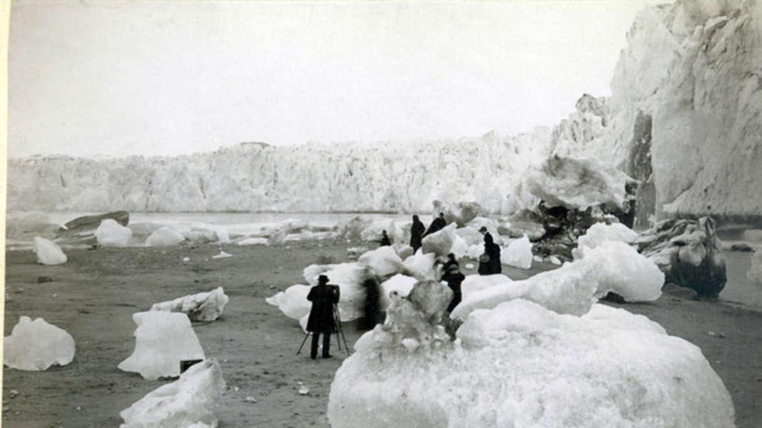Der Muir-Gletscher um 1880