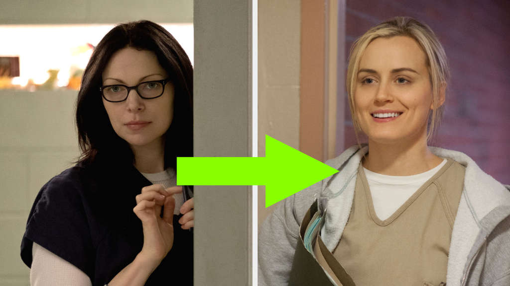 Laura Prepon und Taylor Schilling in Orange Is The New Black