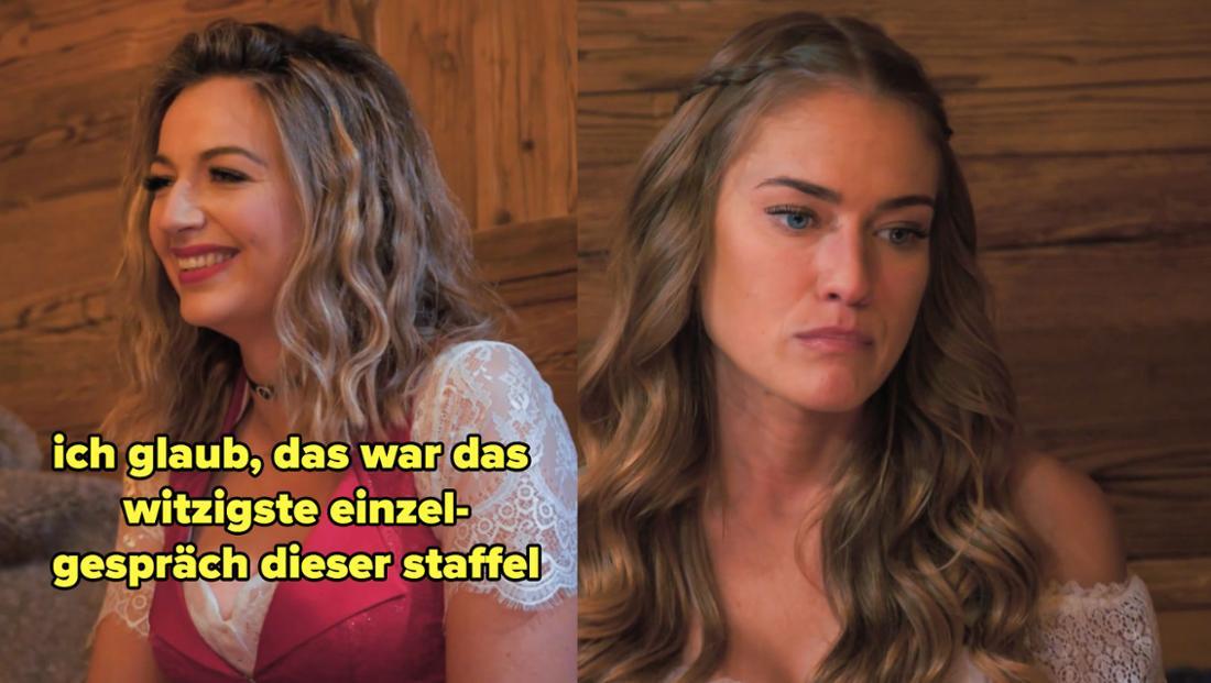 Hannah erzählt von ihrem witzigen Gespräch mit Niko, Mimi sieht schlecht gelaunt aus
