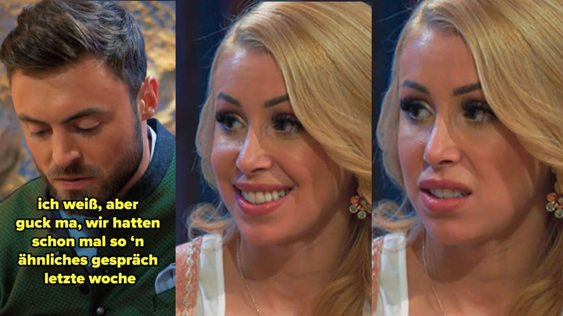 Niko sagt Denise, dass sie das gleiche Gespräch schon mal geführt haben, was sie erschrickt
