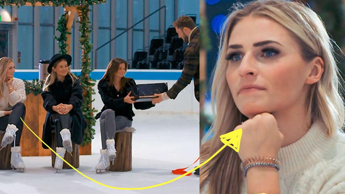 Niko gibt Michèle ein Geschenk, obwohl Laura Geburtstag hat.