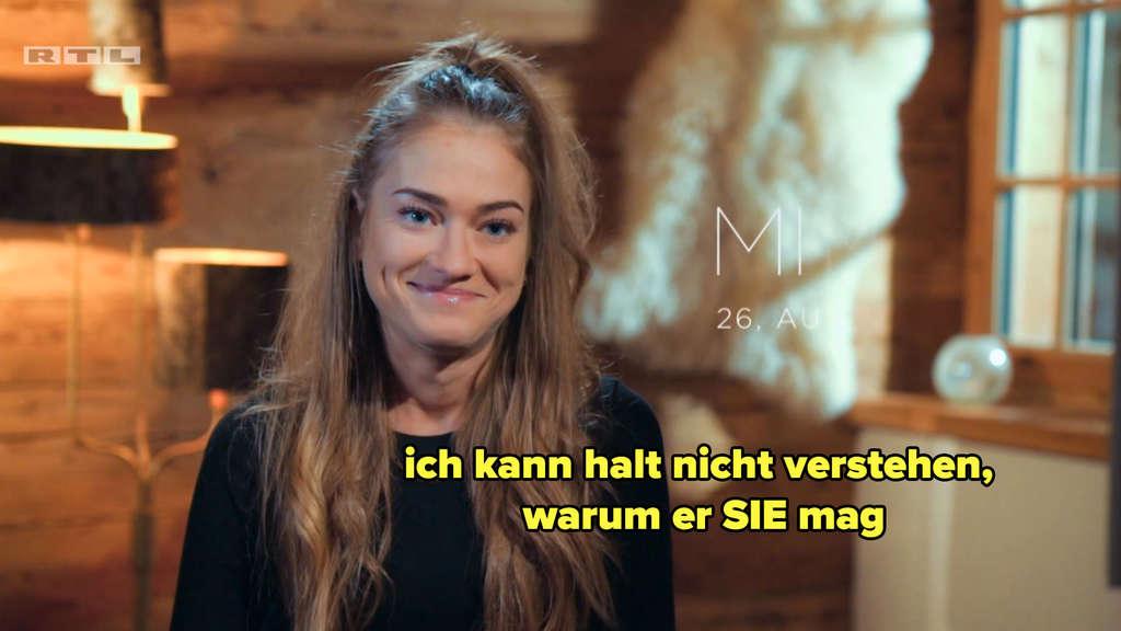 Mimi fragt sich, warum der Bachelor Michèle mag