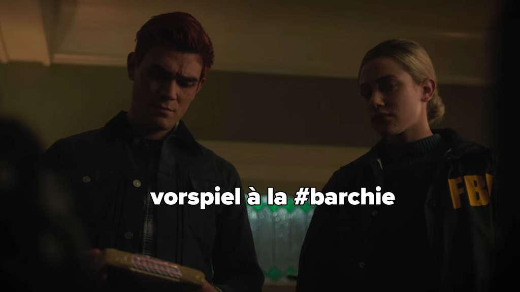 Archie und Betty machen eine Razzia in seinem Haus