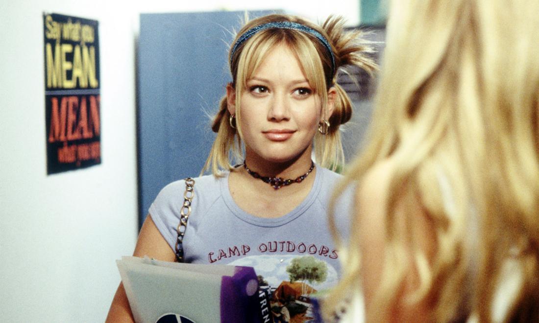 "Hilary Duff als ""Lizzie McGuire"""