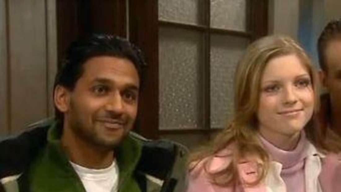 """Kumaran Ganeshan und Laura Laß als Budhi und Katharina in """"Schloss Einstein"""", 2007"""