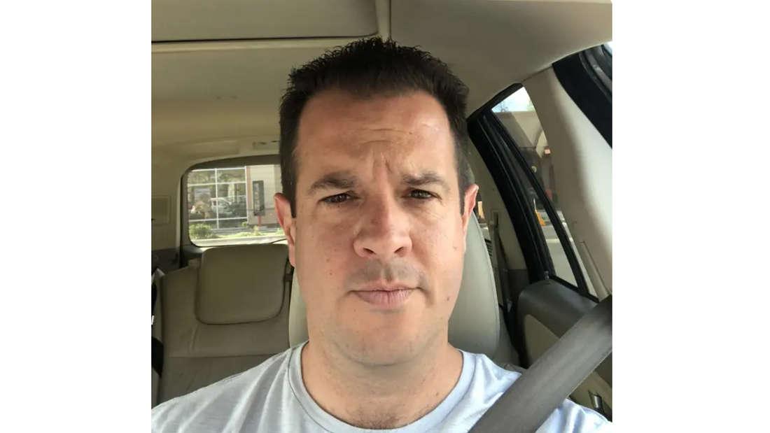 Autor Mike Spohr mit kurzem Haarschnitt