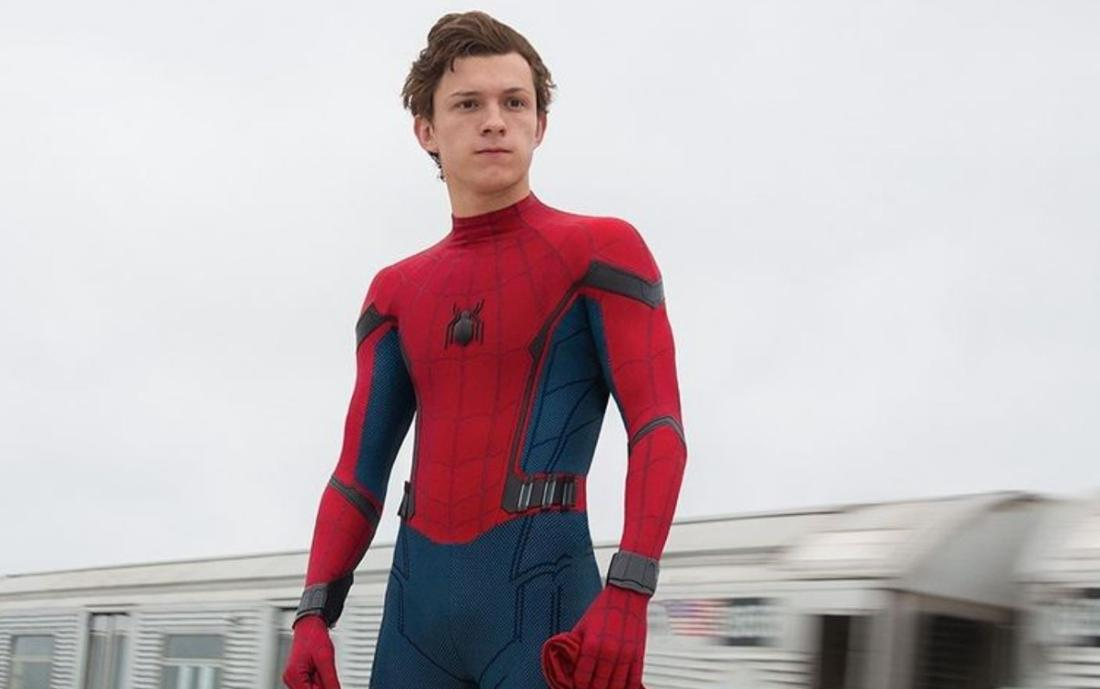 """Tom Holland in """"Spider-Man: Homecoming"""""""