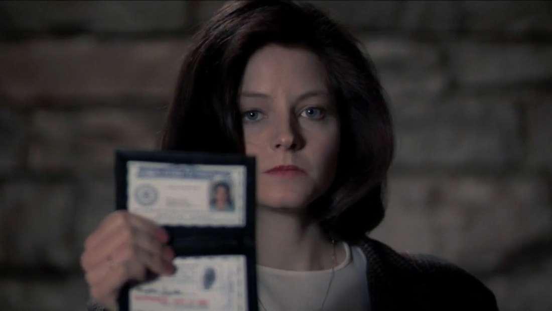 """Jodie Foster in """"Das Schweigen der Lämmer"""""""