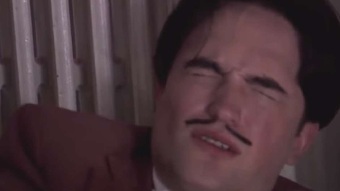 "Robert Pattinson als Salvador Dali in ""Little Ashes"""